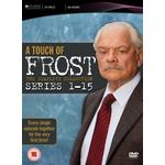 Frost dvd Filmer A Touch of Frost - Complete Series 1-15 [DVD]